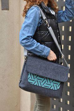 LAPTOP BAG, Laptop backpack, Felt laptop sleeve, Messenger bag, Shoulder bag, Crossbody bag, Macbook pro 15, Laptop bag 15 inch, Laptop case#fashion #fashionblogger #bags #boho #bohostyle #tote #totebag #style #styleblogger #fashionista #vegan #messengerbag