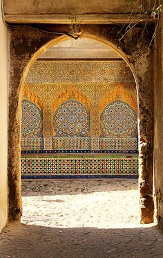 tangier, morocco | islamic art + architecture #tile