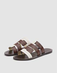 46b5ff29dd88 Interlock Vachetta Sandal Smooth Leather