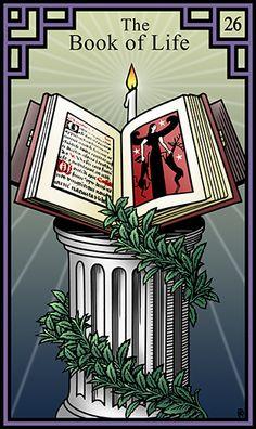 26 - The Book of Life - Burning Serpent Oracle par Robert M Place & Rachel Pollack