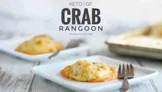 """crab rangoon dip """"These Delicious Cheesy Keto Crab Rangoons are so Creamy and Flavourful! They're made with Mozzarella Cheese Slices instead of the traditional wonton wrapper. The chee Low Carb Lunch, Low Carb Keto, Keto Fat, Crab Recipes, Low Carb Recipes, Ketogenic Recipes, Diabetic Recipes, Easy Recipes, Breakfast"""