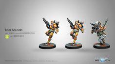 Infinity: Yu Jing Tiger Soldiers (Boarding Shotgun)