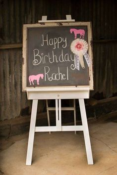 Vintage pony party Birthday Party Ideas | Photo 18 of 34 | Catch My Party