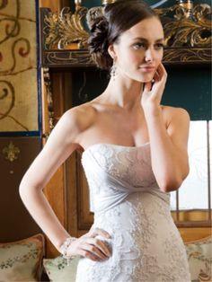 Beautiful side bun. Wedding Hair and Makeup - Vivian Ashworth for Melbourne Bride magazine.