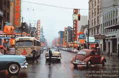 Vancouver 60's in Fred Herzog Photographs