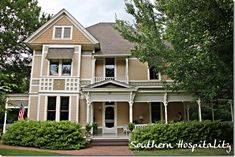 Beautiful historical home in Marietta, GA, The Trammell House.