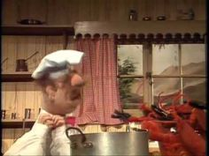 Muppet Show. Swedish Chef - Lobsters - 'nuff said =) Madeline Kahn, Chef Shows, Swedish Chef, Tv Chefs, The Muppet Show, Funny People, Funny Things, Jim Henson, Finding Nemo