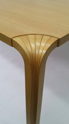 Alvar Aalto Fan Leg Dining Table or Writing Desk | From a unique collection of antique and modern desks and writing tables at https://www.1stdibs.com/furniture/tables/desks-writing-tables/