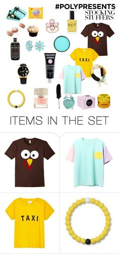 """""""#PolyPresents: Stocking Stuffers"""" by taci42 ❤ liked on Polyvore featuring art, contestentry and polyPresents"""