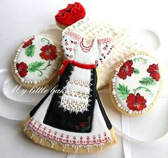 cookies in the Ukrainian style