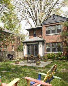 Exterior color to complement redorange brick Houzz Home