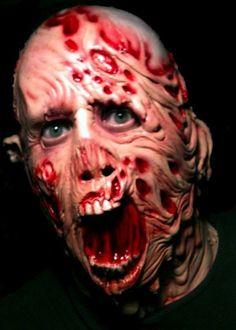 melting man gory latex horror mask halloween - Creepy Masks For Halloween