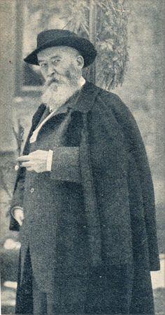 Porträt Wilhelm Busch, der am 9. Januar 1908 starb