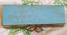 Vintage 50s eyeglass case Clutch Nail care by HippychicsCloset, $12.00