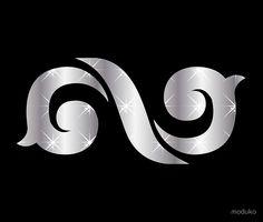 INFINITE(인피니트), Kpop star logo art Infinite Logo, Infinity Music, Kpop Logos, Myungsoo, Thing 1, Star Logo, Music Notes, Textile Prints, Drawing Ideas