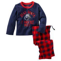 2-Piece Jersey & Fleece PJs