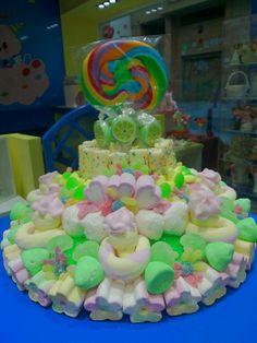 Divertida y dulce, tarta hecha por Duldi Albacete.