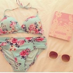swimwear bikini beautiful swag fashion need summer winter swag yolo grunge indie love vintage cool celebrity miley c grey, fluffy, cool, cute, 90s, goth, pastel goth, awesome vans hipster bikini
