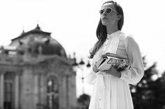 Moda en la calle desfile alta costura Chanel
