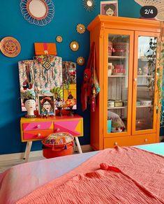 Rental Home Decor, Home Decor Bedroom, Interior Exterior, Interior Design, Room Inspiration, Design Inspiration, Deco Originale, Bedroom Color Schemes, House Colors