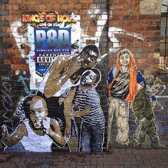 Temporäre Streetart von Nether | Baltimore Streetartist in London ( 10 Bilder ) - Atomlabor Wuppertal Blog