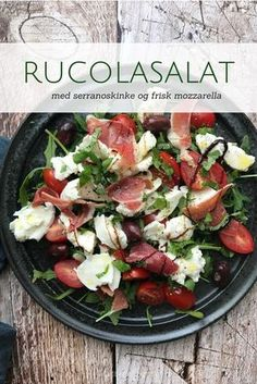 Older people who do not get enough of the right nutrients can be too thin or too heavy. Clean Eating, Healthy Eating, Comfort Food, Greens Recipe, Mozzarella, Italian Recipes, Food Inspiration, Love Food, Gourmet