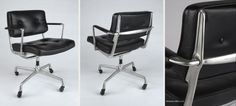 The Chair in Charles Eames's Office!  An #Eames Intermediate Chair