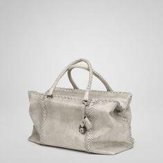 Stone Python Brick Bag