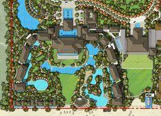 Marriott Ding Long Wuchuan Resort Library Architecture, Architecture Plan, Landscape Architecture, Site Master, Master Plan, Beach Hotels, Hotels And Resorts, Resort Plan, Casa Hotel