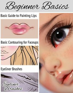 Dolls & Other Things — I started waffling about how I do faceups in case...