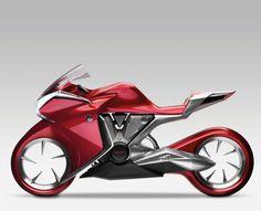 Moto conceito Honda V4
