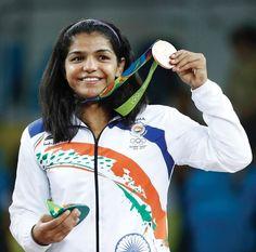 Sakshi Malik's medal win at #Rio #Olympics 2016.