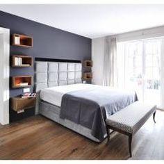 Familienvilla in Grünwald: Modern Schlafzimmer von Heerwagen Design Consulting