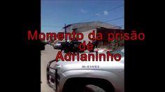 Veja o momento que Adrianinho é capturado pela polícia no Santa Maria