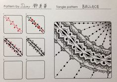 zentangle step by step - Cerca con Google