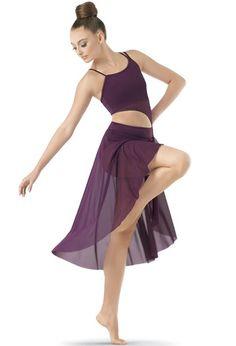 Asymmetrical Mid-Length Mesh Dress | Balera™