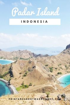 Padar Island, Flores, Indonesia - one of the most scenic hikes you'll see in your life!