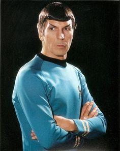 Leonard Nimoy as Spock in Star Trek: The Original Series (RIP February 27, 2015)