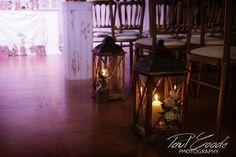 Heaton House Farm Wedding Venue, Cheshire, Paul Goode Photography, winter wedding, indoor ceremony, night sky, lanterns