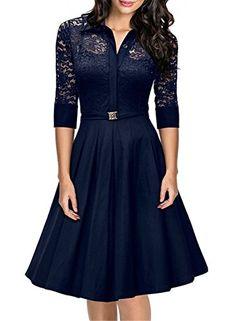 Wedtrend Women's Vintage 1950s Style 3/4 Sleeve Black Lac... https://smile.amazon.com/dp/B01G551DQI/ref=cm_sw_r_pi_dp_x_JWZOybNG3R665