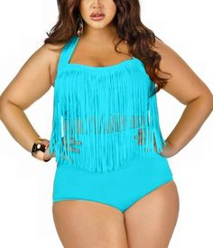 37f63c0cb37c5 HOT Sale Plus Size Bikini Set Women Ladies Sexy Retro Padded Push Up Tassel High  Waist Swimwear Swimsuit Bathing XXXL 15278 Note  Check your size and ...