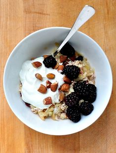 Museli!! I've been wanting to try making museli for a fast, healthy breakfast and this recipe looks perfect