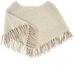 Chloé - Mini Me wool blend poncho - 196144
