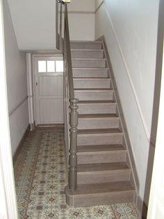 Cage d\'escalier restaurée - Maison de Maître à Verviers 2 ...