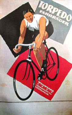Artist: Ludwig Hohlwein (1874-1949) Year: 1921 Product: Torpedo Bicycles
