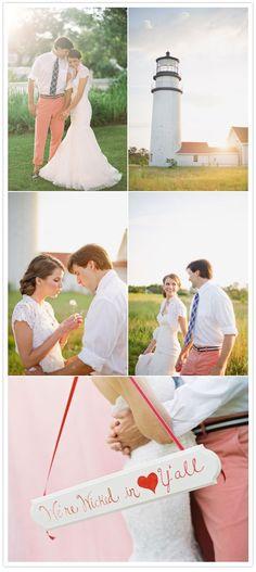 preppy Nantucket wedding