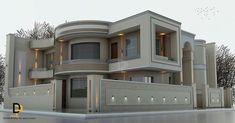 Ideas House Exterior Luxury Dream For 2019 Bungalow House Design, House Front Design, Dream House Interior, Luxury Homes Dream Houses, Classic House Design, Modern House Design, House Plans Mansion, Modern House Plans, Facade House