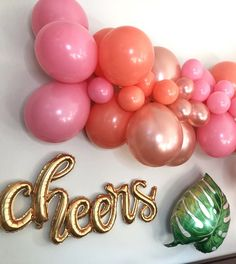 Home Decor Pictures Flamingo theme is so perfect for a summer shower or bachelorette party. Love these foil balloons and garlands. Balloon Words, Balloon Arch, Balloon Garland, The Balloon, Balloon Decorations, Large Balloons, Mylar Balloons, Baby Shower Themes, Baby Shower Decorations