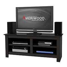 "Ameriwood™ 60"" Four Shelf TV Stand at Big Lots."