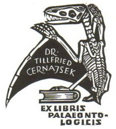 Dr. Tillfried Cernajsek Bookplate by Anatotitan, via Flickr